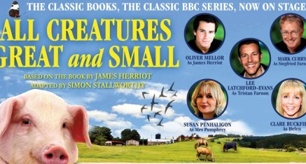All Creatures Great and Small (Theatre Royal, Brighton, until Saturday June 7th)