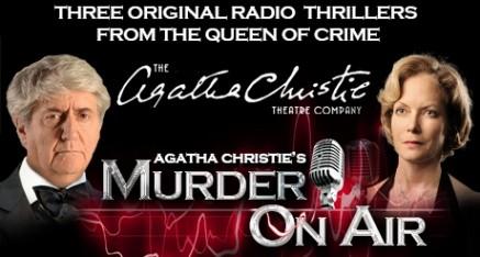 Murder on Air (Theatre Royal, Brighton, until Saturday September 6th)